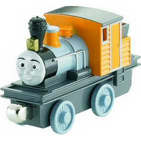 Take Along Dash Thomas e seus Amigos Brinquedos (aberto)