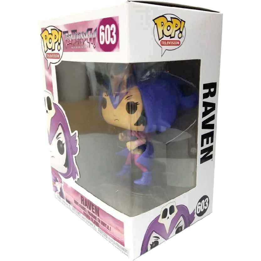 Teen Titans Go! Funko Pop Ravena (Raven) vinyl figure número 603