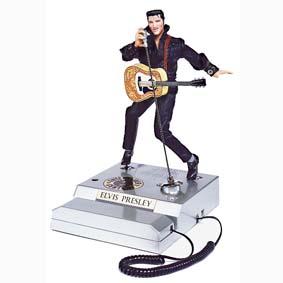 Telefone Elvis que dança e canta