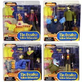 The Beatles (Yellow Submarine + 7 figuras)