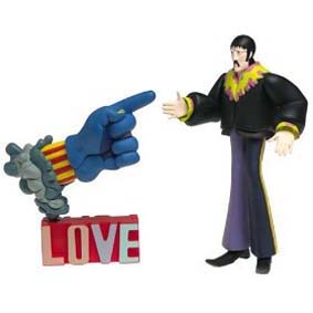 The Beatles Yellow Submarine John Lennon with Glove and Love Base