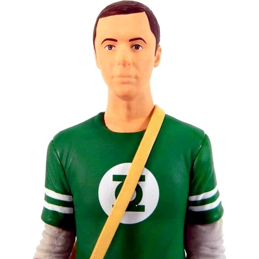 The Big Bang Theory Sheldon Cooper ( Jim Parsons ) com camiseta do Lanterna Verde
