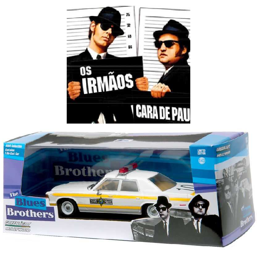 The Blues Brothers: 1977 Dodge Royal Monaco Illinois State Police Greenlight escala 1/43