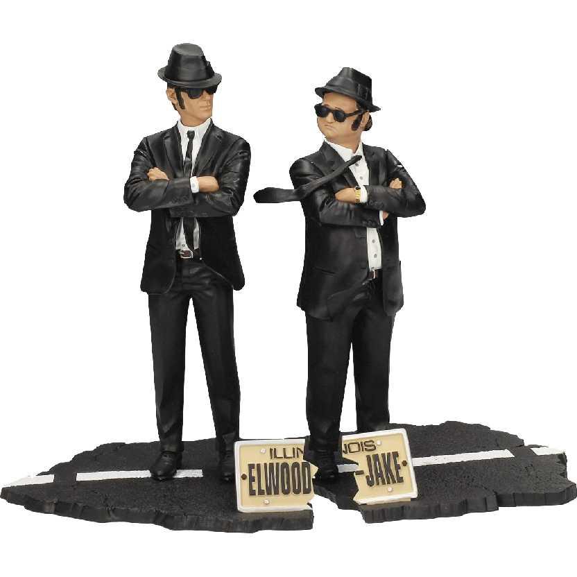 The Blues Brothers Elwood e Jake (Os Irmãos Cara de Pau) Boneco SD Toys