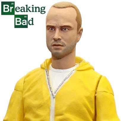 The Breaking Bad - Jesse Pinkman ( Mezco Hazmat action figure ) Aaron Paul