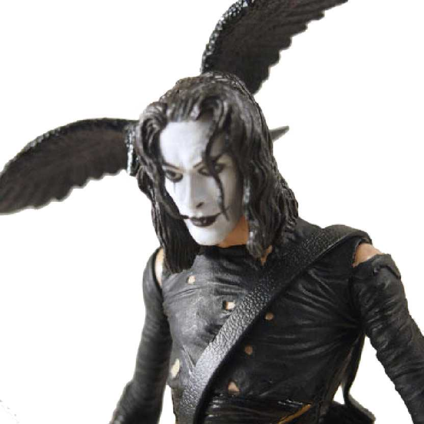The Crow (O Corvo) Brandon Lee Mcfarlane Toys Movie Maniacs 2 Action Figures (aberto)