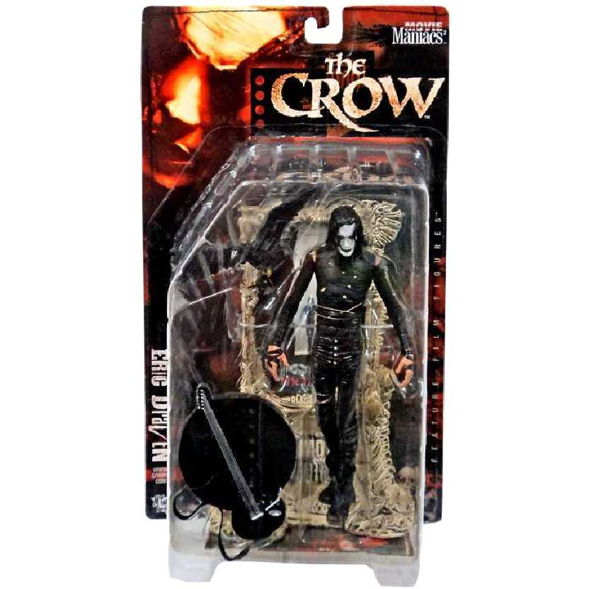 The Crow (O Corvo) Mcfarlane Toys Movie Maniacs 2 Action Figures (Brandon Lee)