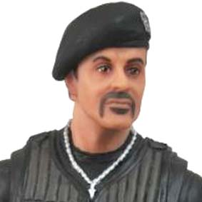 The Expendables 2 action figures Barney Ross ( Sylvester Stallone ) Os Mercenários 2