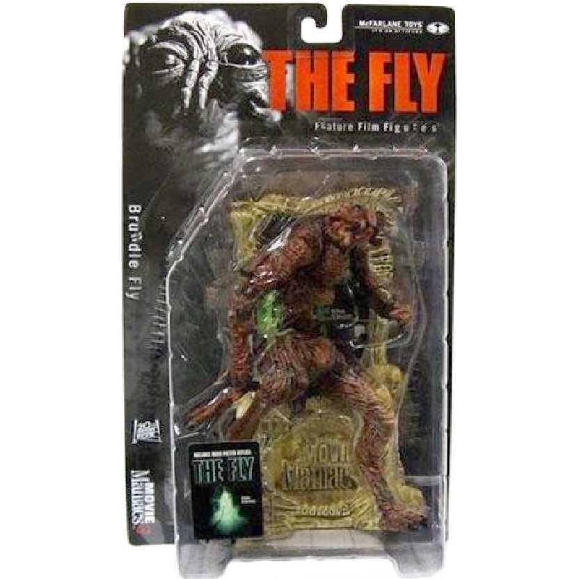 The Fly (Brundle Fly) A Mosca marca McFarlane Movie Maniacs series 3