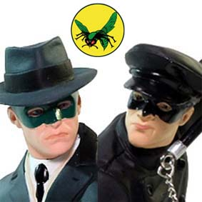 The Green Hornet ( Van Williams ) e Kato ( Bruce Lee ) O Besouro Verde da TV