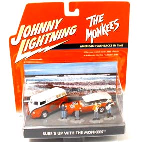 The Monkees - 2 autos e 3 figuras