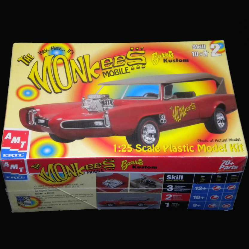 The Monkees Mobile Model Kit Barris Kustom - AMT Ertl escala 1/25
