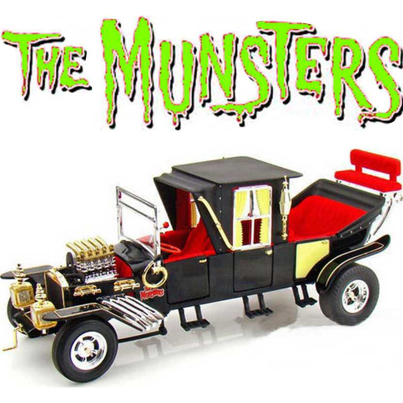 The Munsters ( Os Monstros ) The Munster Koach - Auto World escala 1/18