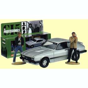 The Professionals Ford Capri com 2 bonecos (Bodie + Doyle)