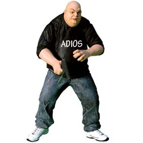 The Spirit - ADIOS Thug (aberto) variant