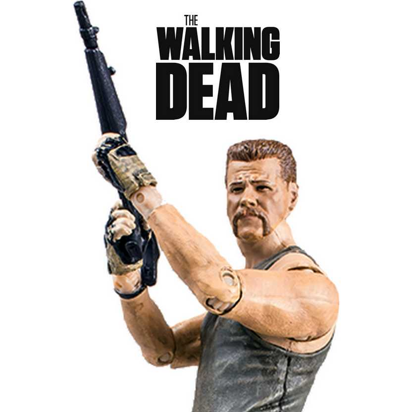 The Walking Dead - Abraham Ford figure - McFarlane series 6 action figures (aberto)