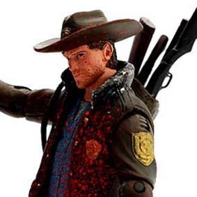 The Walking Dead Bonecos Mcfarlane Toys / Officer Rick Grimes (NY Comic-Con 2011)