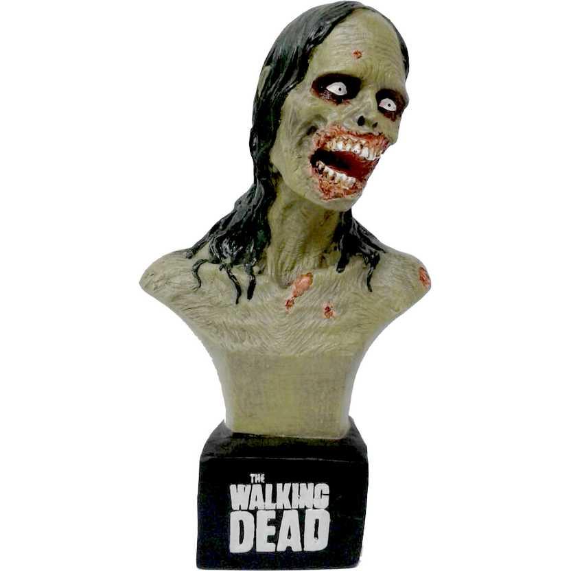 The Walking Dead busto do Zumbi Hannah (mulher da bicicleta) Zombie Bust