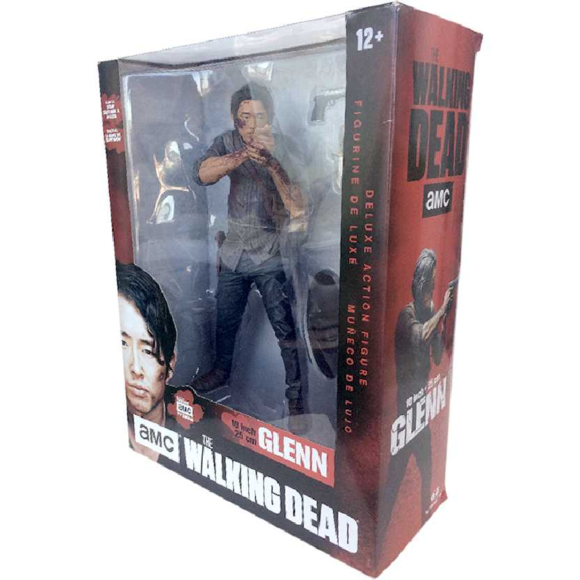 The Walking Dead Glenn TV series AMC Mcfarlane Toys action figures 24cm 10inch