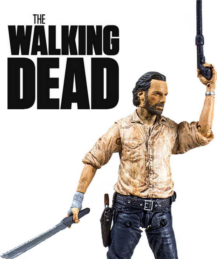 The Walking Dead - Rick Grimes figure - McFarlane Toys series 6 action figures (aberto)