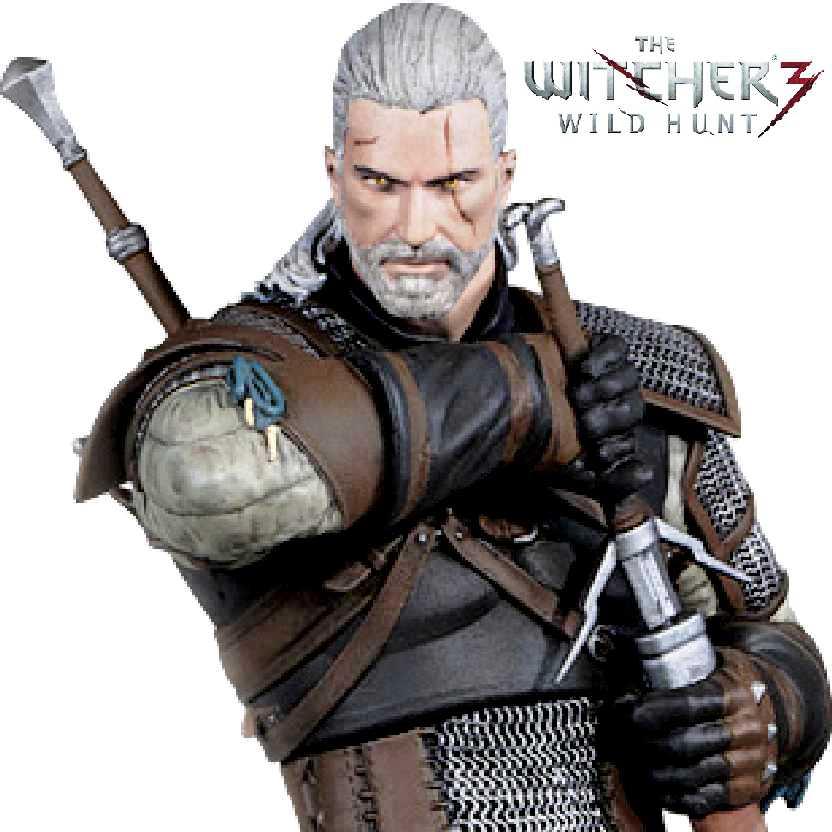 The Witcher 3 Geralt of Rivia The Wild Hunt estátua Dark Horse Deluxe