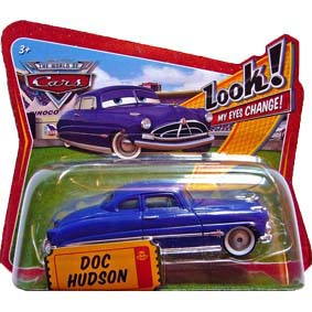 The World of Cars Look My Eyes Change! Doc Hudson (abre e fecha os olhos)