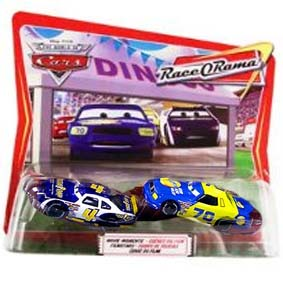 The World of Cars Race O Rama Cenas do filme Tow Cap #4 e Gasprin #70