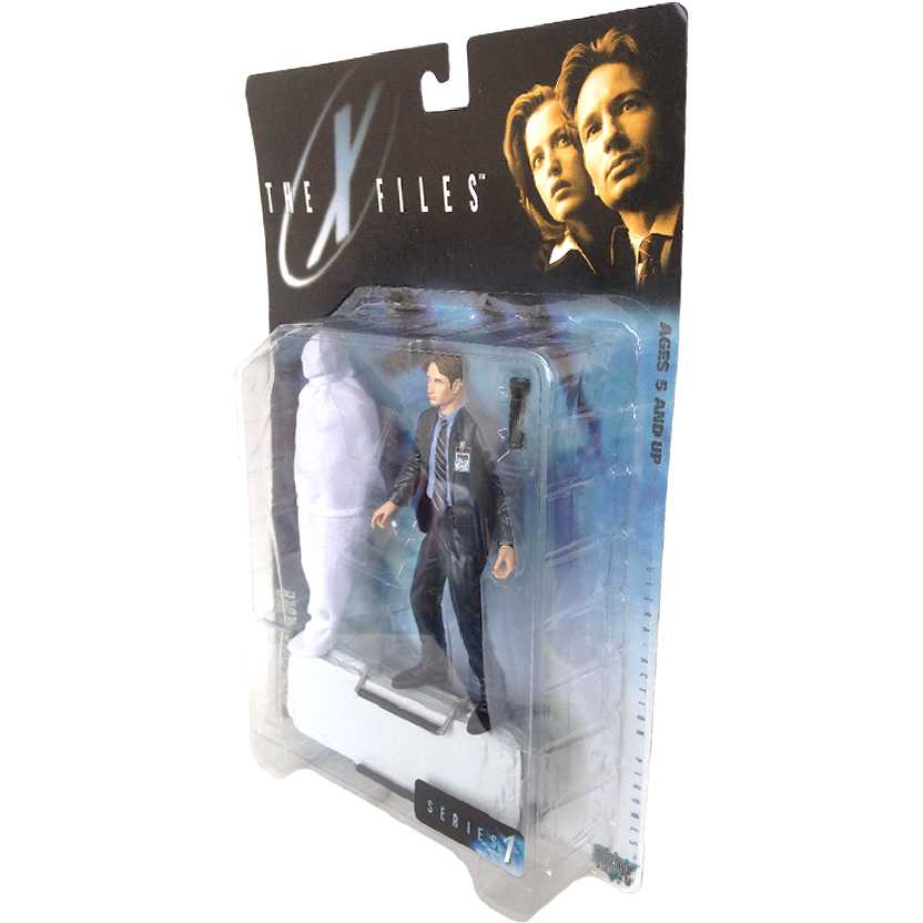 The X-Files Agent Fox Mulder + Maca ( Arquivo X ) FBI Mcfarlane Toys Action Figures