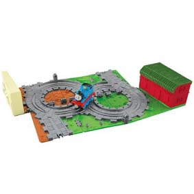 Thomas And Friends Take-N-Play Thomas At The Farm Playset
