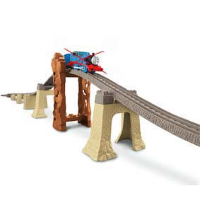 Thomas e seus Amigos Fisher Price Brinquedos Trackmaster Elevation Track Pack