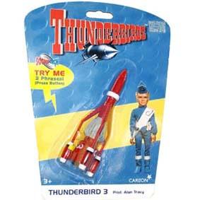 Thunderbird 3 com 3 frases - Thunderbirds Soundtech