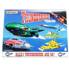 Thunderbirds 1,2,3,4 e FAB1 (conjunto)