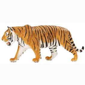 Tigre Siberiano pintado a mão (miniatura Safari Ltd) 111389