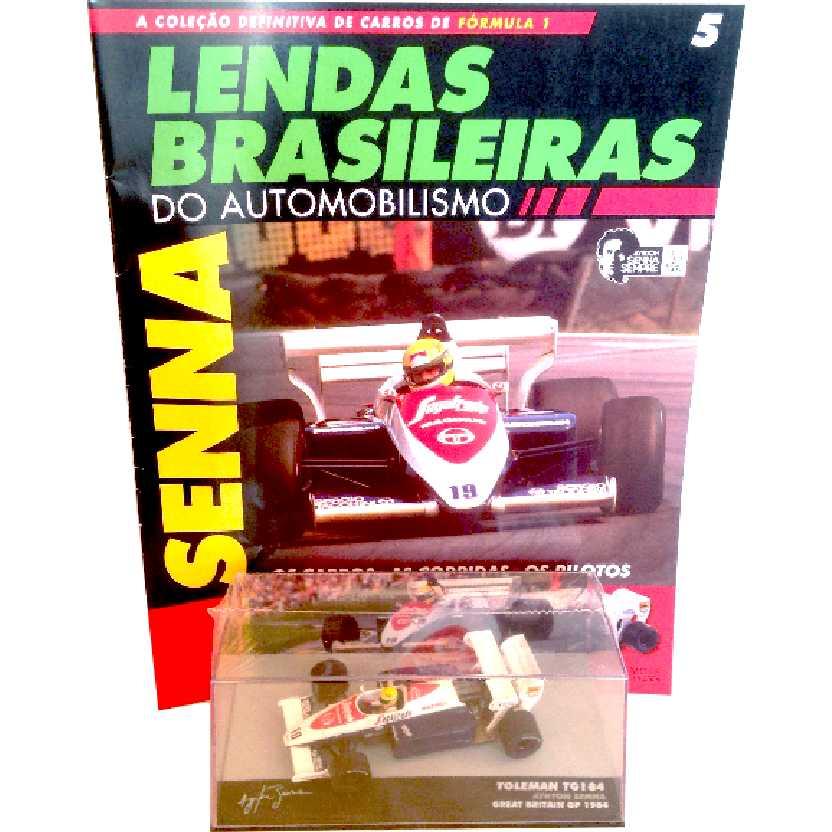 Toleman TG184 Ayrton Senna Lendas Brasileiras #5 do Automobilismo escala 1/43