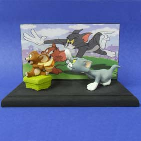 Tom e Jerry (diorama)