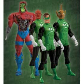 Tomar Re, Hal Jordan, Manhunter e Abin Sur (aberto)