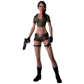 4183aa0dc3 Tomb Raider Boneca Lara Croft Colecionável - Arte em Miniaturas