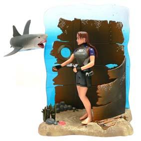 Tomb Raider - Tubarão