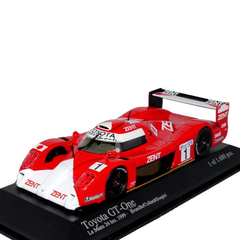 Toyota GT One TS020 ( Le Mans 1999 ) Brundle, Collard, Sospiri - Minichamps escala 1/43