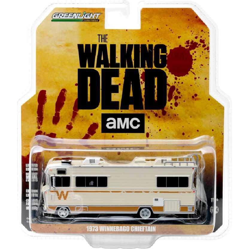 Trailer The Walking Dead RV Dales 1973 Winnebago Chieftain - Greenlight escala 1/64