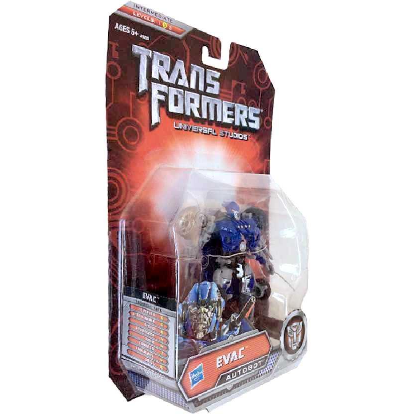Tranformers The Ride Universal Studios Exclusive EVAC Autobot Deluxe Class Hasbro 2011