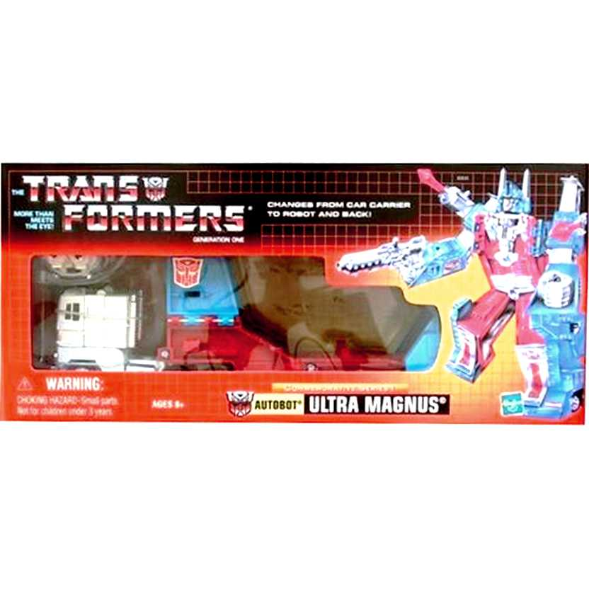 Transformers Autobot Ultra Magnus (G1) marca Hasbro