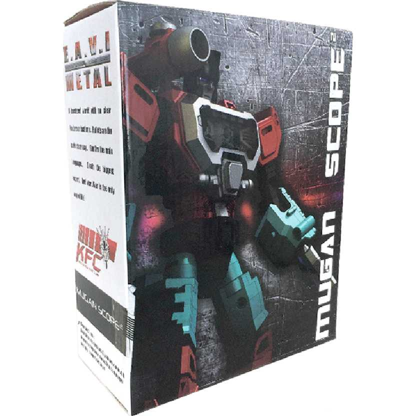 Transformers KFC E.A.V.I. Metal MUGAN SCOPE Phase One H