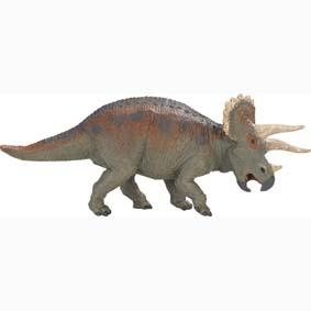 Triceratops pintado a mão