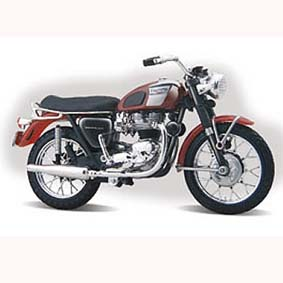 Triumph T120 Bonneville (1961) marca Maisto escala 1/18