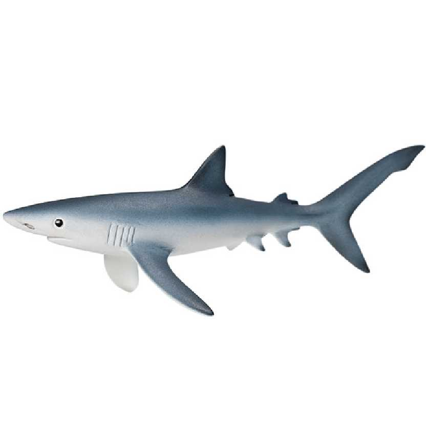 Tubarão azul 14701 marca Schleich Blue Shark