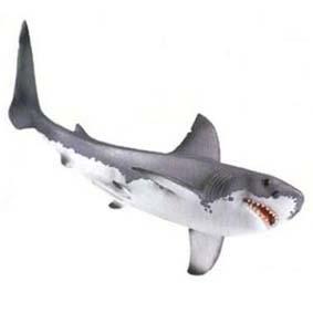 Tubarão branco 16092 (Schleich 2011 Toys) Great White Shark