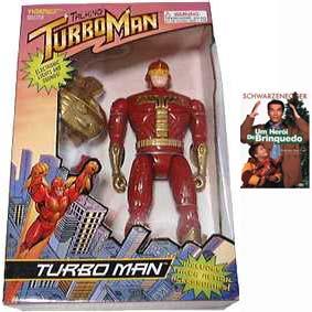Turboman do filme Um Herói de Brinquedo