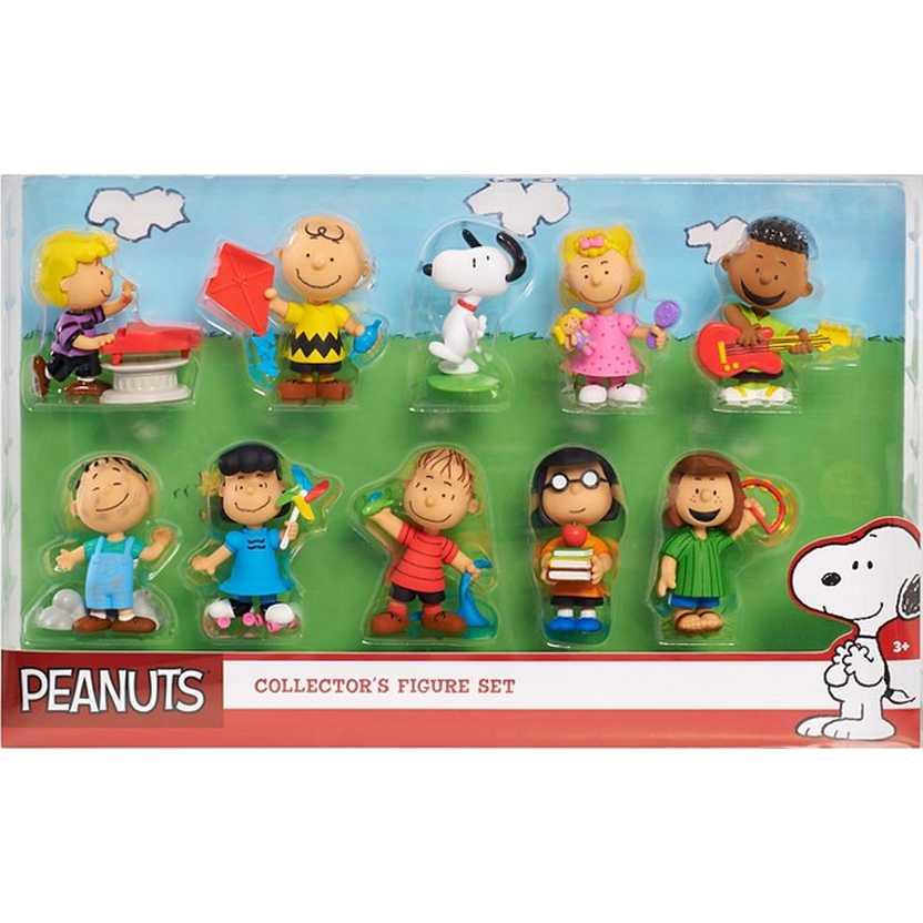 Turma do Snoopy (Sally,Lucy, Schroeder,Charlie Brown,Linus ,Franklin,Pigpen,Marcie e Pimentinha)