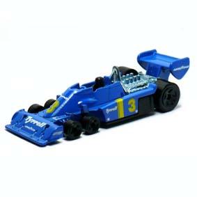 Tyrrell Hot Wheels 2010 P34 6 rodas (1975) azul 039 R6451